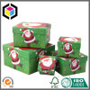 Full Color Print Cardboard Paper Christmas Gift Boxes Set