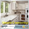 Large Size Quartz Slab, Beige Color Artificial Quartz Stone, Crystal White Quartz Countertop