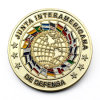 Zinc Alloy Enamel States Flag Souvenir Coin