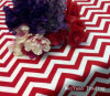 Christmas Round & Square Chevron Party Tablecloths