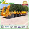 German Suspension 3 BPW Axles Low Bed Truck