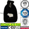 Embroidery Lamp Hot Water Bottle Plush Fur Cover