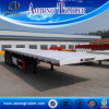 3 Axle Container Trailer, 40FT Flatbed Semi Trailer with Low Price