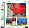 Supermarket Shopping Trolley Plastic Shopping Cart