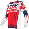 Red Color Sprorts Wear UV Protection Motorcycle Racing Jersey (MAT56)
