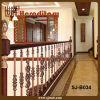 Modern Design Red Antique Stair Balustrade for Railing (SJ-B034)