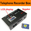 Telephone Recorder Box, LCD Display, Automatic Recording, MP3 Function, Replay Function (RT70)
