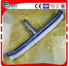 Wholesale Deluxe Swimming Pool Wall Brush with Aluminum Black (18′/45cm)