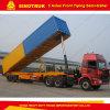 3 Axle Dump Semi Trailer 30ton-100ton Utility Truck Trailer