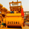 Twin Shaft Stationary Electric Small Concrete Mixer (Js750)