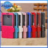 Window Flip Leather Case for Samsung