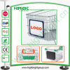 Plastic Advertisement Board for Supermarket Shopping Trolley