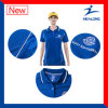 Healong Quilted and Embroidery Men Polo Shirt