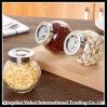 Glass Oval Jar / Nut Glass Storage Jar