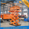 Small Cargo Hydraulic in Floor Scissor Lift