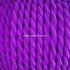Violet Cloth Covered Electric Wire (2*0.75mm2)