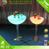 LED Bar Cocktail Table with Light Color Change & Remote Control