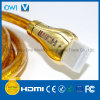 HDMI 19 Pin Plug-Plug Cable for 4K & HDTV with Blue LED Plug