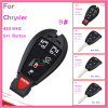 Remote Car Key for Chrysler with 4 Button ID46 Chip 315MHz FCC Oht Small Button