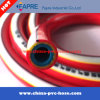 PVC Plastic High Pressure Fiber Reinforced Braided Air Spray Hose