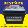 Premium Quality Bestart 55ah 12V Mf Vehicle Battery DIN55559-Mf