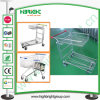 Zinc Plated Warehouse Platform Trolley for African Market