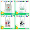 HDPE Plastic White T-Shirt Bag with Printing