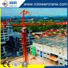 Ce Certificate Topkit /Hammer Head Self Erecting/Inner Climbing/Travelling Tower Crane for Construction