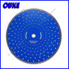 Super Thin Ceramic Diamond Turbo Saw Blade with Silent Core