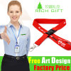 Igh Quality Custom Printing Nylon Neck Lanyard as Promotion Giftpolyester