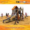 PE Playground Orange House Slide (PE-04501)