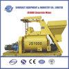 Js1000 Twin Shaft Concrete Mixer Machinery
