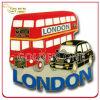 Custom London Bus Shape Souvenir Metal Fridge Magnet