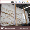 New Sofit Gold Marble Slab Tiles with Good Quality