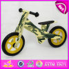 Most Beautiful Wooden Walking Bike for Kids, Children Balance Bike Wooden Bike, Camouflage Color Wooden Walking Bike W16c120