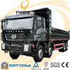 8X4 380HP C100 Hongyan Iveco Tipper Truck with Flat Roof