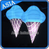 Massive Balloon Advertising Inflatable Ice Cream Balloon with Light for Capture The Public′s Attention
