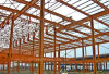 Steel Building Frame as Two Floors Warehouse
