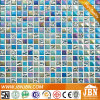 Rainbow Blue Color Kitchen Wall Border Glass Mosaic (G815004)