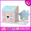 Girls Favourite Wooden Jewelry Box, Wholesale Cheap Kids Wooden Jewelry Box, Christmas Gift Wooden Jewelry Box Set W09e001