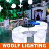 Illuminated LED Curved Bar Lounge Bench