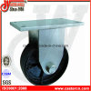 6 Inch Fixed Dustbin Castor