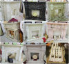 Marble Statuary Fireplace, Fire Surround, Mantel-QS