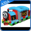 Outdoor Inflatable Train Moonwalk for Kids Games