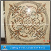 Customized Decorative Natural Stone Marble Mosaic Water Jet Floor Tiles