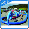 Outdoor Inflatable Kart Car Track for Children