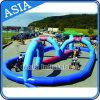 Outdoor Inflatable Kart Car Track for Children