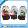LED Light Religious Resin Water Globe
