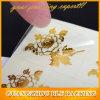 Gold Flower Shape Sticker (BLF-S078)
