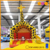 Inflatable Yellow Giraffe Outside Bouncer (AQ674)